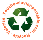 Touche-clavier-portable.com Recycle Valorise